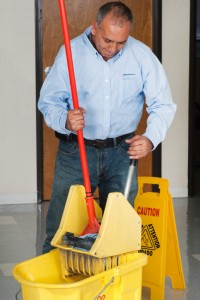 Photo of janitor courtesy of iStock