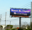 A billboard in Sarasota, Florida